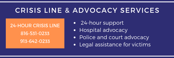 crisis line and advocacy services